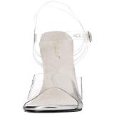 Bianco 11,5 cm FABULICIOUS GALA-08 Sandali con tacco da cerimonia