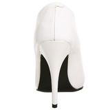 Bianco Matto 13 cm SEDUCE-420 Tacchi altissimi da uomo