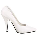 Bianco Matto 13 cm SEDUCE-420 scarpe décolleté a punta