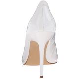 Bianco Vernice 10 cm CLASSIQUE-20 Tacchi altissimi da uomo