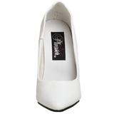 Bianco Vernice 10 cm VANITY-420 Tacchi altissimi da uomo