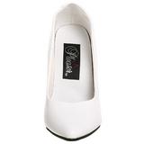 Bianco Vernice 13 cm SEDUCE-420 Tacchi altissimi da uomo
