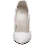 Bianco Vernice 15 cm DOMINA-420 Tacchi altissimi da uomo