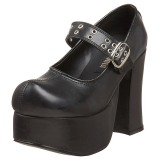 Black 11,5 cm CHARADE-05 lolita shoes gothic womens platform shoes