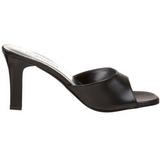 Black 8,5 cm ROMANCE-301-2 High Women Mules Shoes for Men