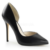 Black Matte 13 cm AMUSE-22 Pumps High Heels for Men