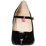 Nero Nero Nero Patent 10 cm DREAM 428 big size pumps scarpe 7547eb