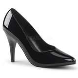 Black Varnished 10 cm DREAM-420 high heel pumps classic