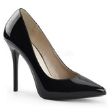 Black Varnished 13 cm AMUSE-20 Women Pumps Shoes Stiletto Heels