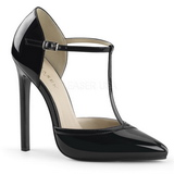 Black Varnished 13 cm SEXY-27 Women Pumps Shoes Stiletto Heels