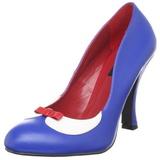 Blu 10,5 cm SMITTEN-05 Scarpe da donna con tacco altissime