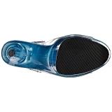 Blu 20 cm FLAMINGO-808T scarpe da cubista e poledance pleaser