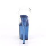 Blu 20 cm FLAMINGO-808TB scarpe da cubista e poledance pleaser