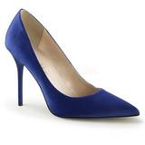Blu Raso 10 cm CLASSIQUE-20 grandi taglie scarpe stilettos