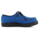Blue Suede 2,5 cm CREEPER-602S Mens Creepers Shoes
