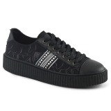 Canvas 4 cm SNEEKER-106 Mens sneakers creepers shoes