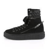 Canvas 4 cm SNEEKER-270 Mens sneakers creepers shoes