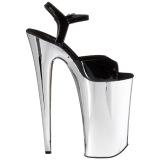 Cromo 25,5 cm BEYOND-009 tacchi estremi - scarpe tacco più plateau alto