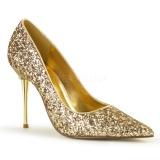 Dorato 10 cm APPEAL-20G scarpe décolleté con tacchi a spillo metallo alto