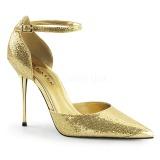 Dorato Scintillare 10 cm APPEAL-21 scarpe décolleté con tacchi a spillo metallo alto