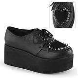 Ecopelle 7 cm GRIP-02 scarpe lolita gotico calzature suola spessa