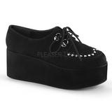 Ecopelle 7 cm GRIP-03 scarpe lolita gotico calzature suola spessa