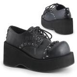 Ecopelle 8 cm DANK-110 scarpe lolita gotico calzature plateau