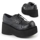 Ecopelle 8 cm DANK-111 scarpe lolita gotico calzature plateau