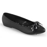 Ecopelle VAIL-01 scarpe ballerine donna basse