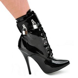Fetish Ankle Calf Boots 15 cm DOMINA-1023