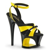 Giallo 18 cm Pleaser MOON-728 Platform High Heel Scarpe
