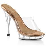 Gold Rose 13 cm LIP-101 scarpe posare - tacco alto da competizione bikini
