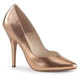 Gold Rose Matte 13 cm SEDUCE-420V Pumps High Heels for Men