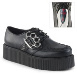 Leatherette 5 cm V-CREEPER-516 Mens Creepers Shoes