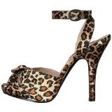Leopardo Raso 12,5 cm EVE-01 grandi taglie sandali donna