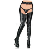 Matte 15,5 cm DELIGHT-5000 Platform Thigh High Boots