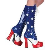 Modello di USA 13 cm ELECTRA-2030 Stivali Stringati Donna