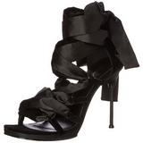 Nero 11,5 cm CHIC-26 Sandali Tacchi a spillo scarpe