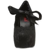 Nero 13 cm DEMON-11 calzature da gotico lolita