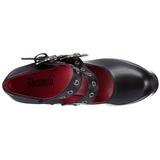 Nero 13 cm DEMON-16 calzature da gotico lolita