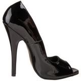 Nero 15 cm DOMINA-212 Scarpe da donna con tacco altissime