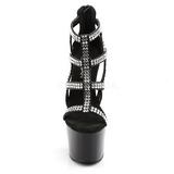 Nero 18 cm ADORE-798 Scarpe da donna con tacco altissime