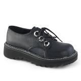 Nero 3 cm DEMONIA LILITH-99 scarpe plateau gotico