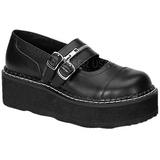 Nero 5 cm EMILY-306 scarpe lolita calzature donna gotico suola spessa