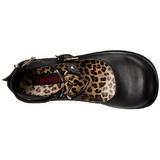 Nero 6 cm SPRITE-02 scarpe lolita gotico calzature con suola spessa