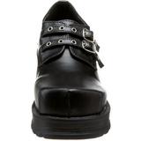 Nero 7 cm TRUMP-101 calzature da gotico lolita
