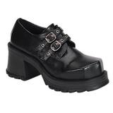 Nero 7 cm TRUMP-101 scarpe lolita calzature donna gotico suola spessa