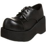 Nero 8,5 cm DANK-101 calzature da gotico lolita