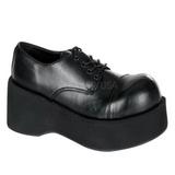 Nero 8,5 cm DANK-101 scarpe lolita calzature donna gotico suola spessa