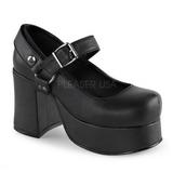 Nero 9,5 cm ABBEY-02 scarpe lolita gotico calzature con suola spessa